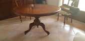 Table ancienne Anglaise acajou  500 La Cadière-d'Azur (83)