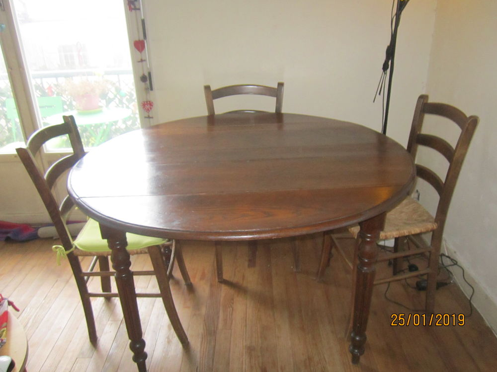 table ancienne + 6 chaises 120 Toulouse (31)