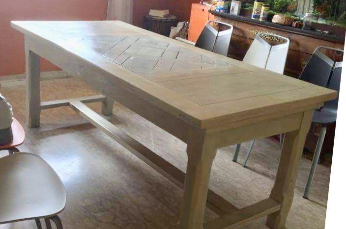 TABLE ANCIENNE EN CHÊNE MASSIF 100 Villeurbanne (69)
