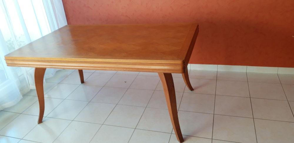 table années 50 en chêne massif couleur miel 95 Dijon (21)