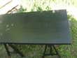 Table d 39 architecte en m lamin noir adosser un mur 1 bord - Table d architecte pas cher ...