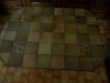 table artisanale en fer forge dessus carrelee Meubles