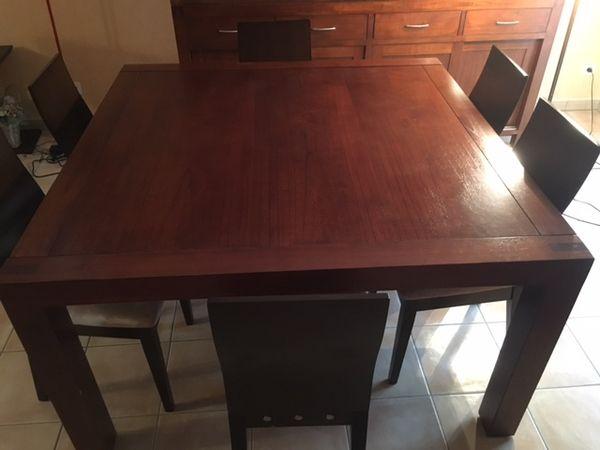 Table de SàM avec 6 chaises, buffet bas, grand buffet 600 Brunoy (91)