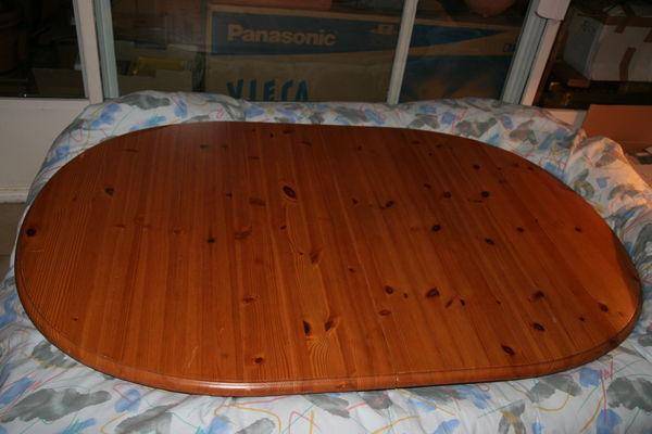 table en pin avec rallonge 80 Cergy (95)