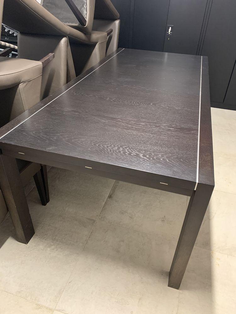 Table avec rallonge BO Concept + 8 chaises  550 Mouans-Sartoux (06)