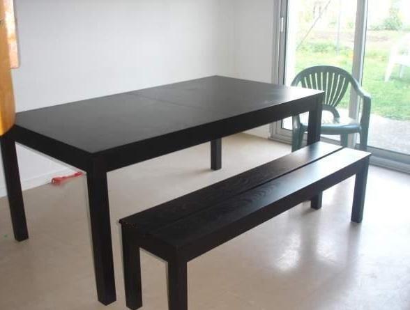 table avec rallonges gallery of table de salle manger design avec rallonge bernie laque blanche. Black Bedroom Furniture Sets. Home Design Ideas