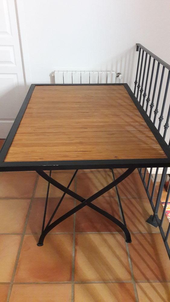 Table Fer / Bambou 120/80 Fermob 175 Nimes (30)