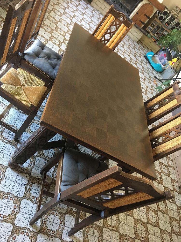 Table basque et 6 chaises  100 Les Couets (44)