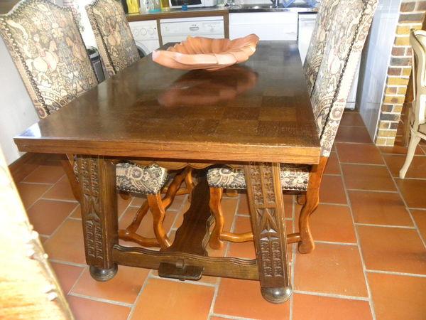 Tables en ch ne occasion en dordogne 24 annonces achat et vente de tables en ch ne - Meuble style basque ...