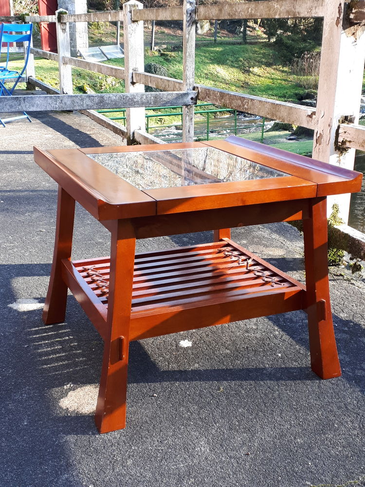 table basse en Accajou massif Meubles