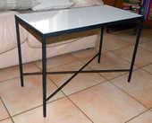Table basse acier forgé et céramique 35 Lagny-sur-Marne (77)