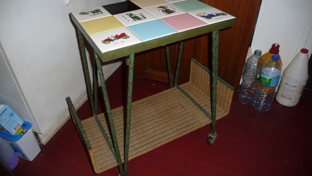 Table basse année 50 60 Trappes (78)