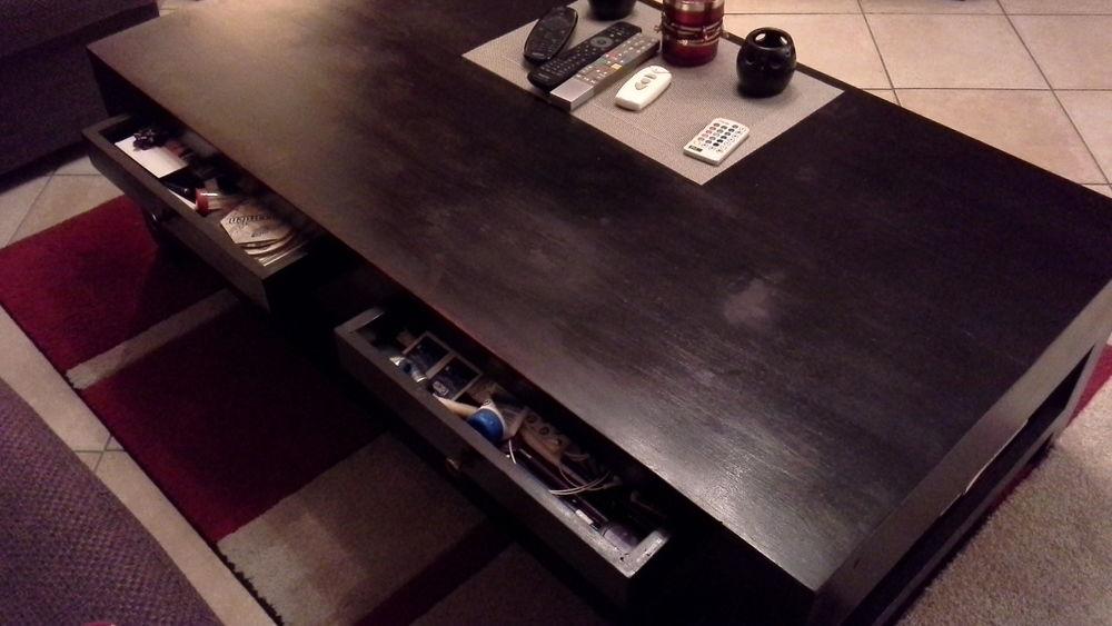 Achetez table basse avec 4 quasi neuf, annonce vente à  ~ Pole Emploi Sainte Genevieve Des Bois Telephone