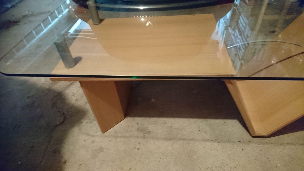 Table basse avec plateau en verre 60 Aulnay-sous-Bois (93)