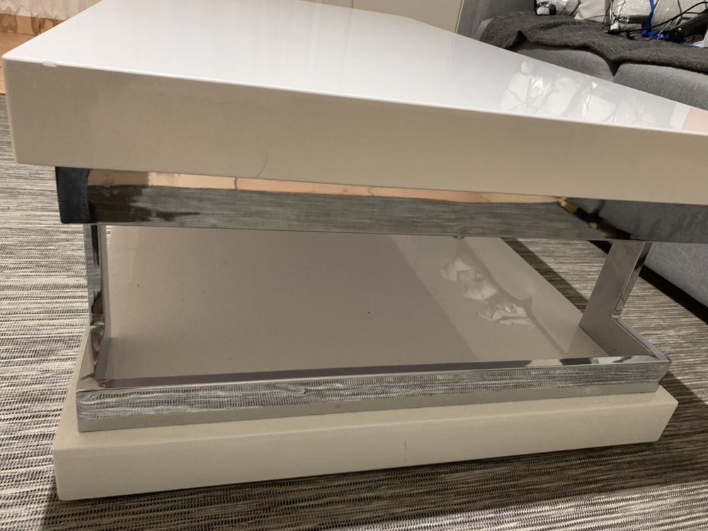 Table basse blanche Meubles
