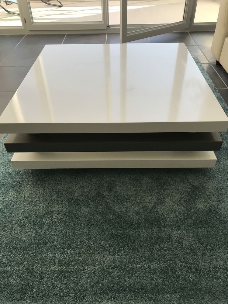 table basse blanche 55 Saint-Genis-Pouilly (01)