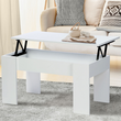 table basse blanche, modulable