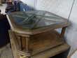 Table basse bois et verre Toulouse (31)