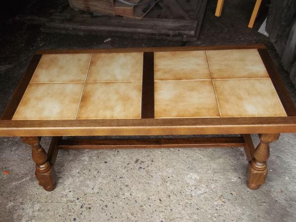 Achetez table basse en bois quasi neuf annonce vente for Relooker une table de cuisine