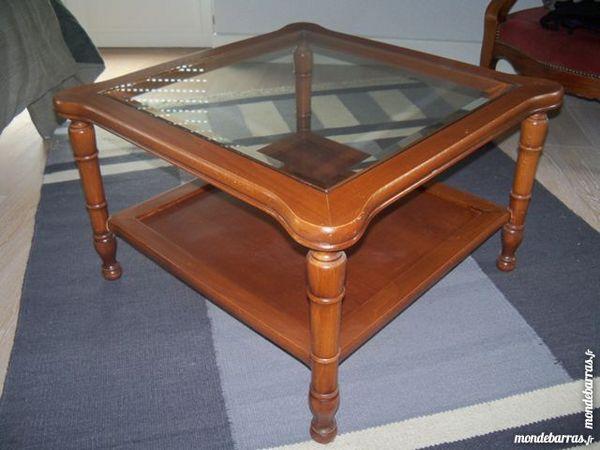 Achetez table basse bois occasion annonce vente lille 59 wb152943396 - Table jardin villaverde lille ...