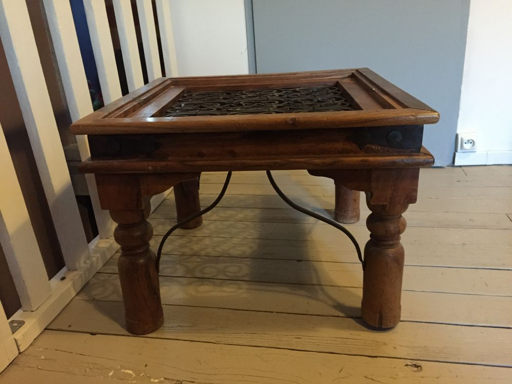 Bois Forgé Fer Table Et Basse En wXiOkZPuTl