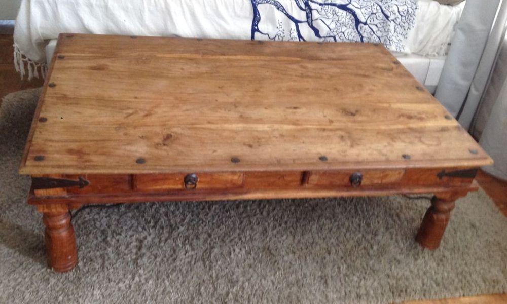 Table basse en bois 100 Levallois-Perret (92)