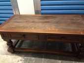 Table basse en bois et pierre 0 Marseille 13 (13)