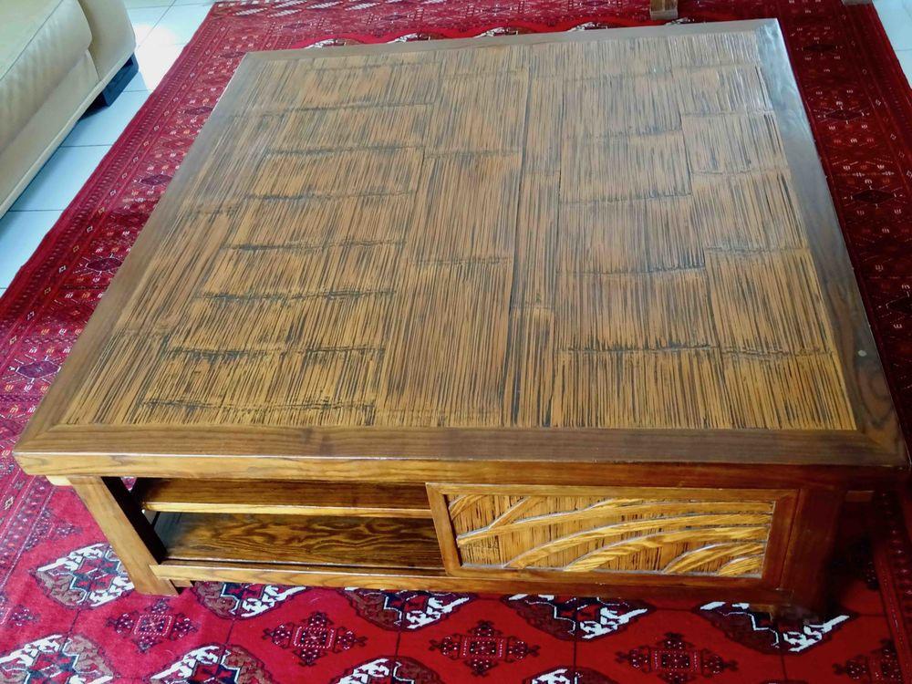 Table basse en bois exotique 350 Nice (06)