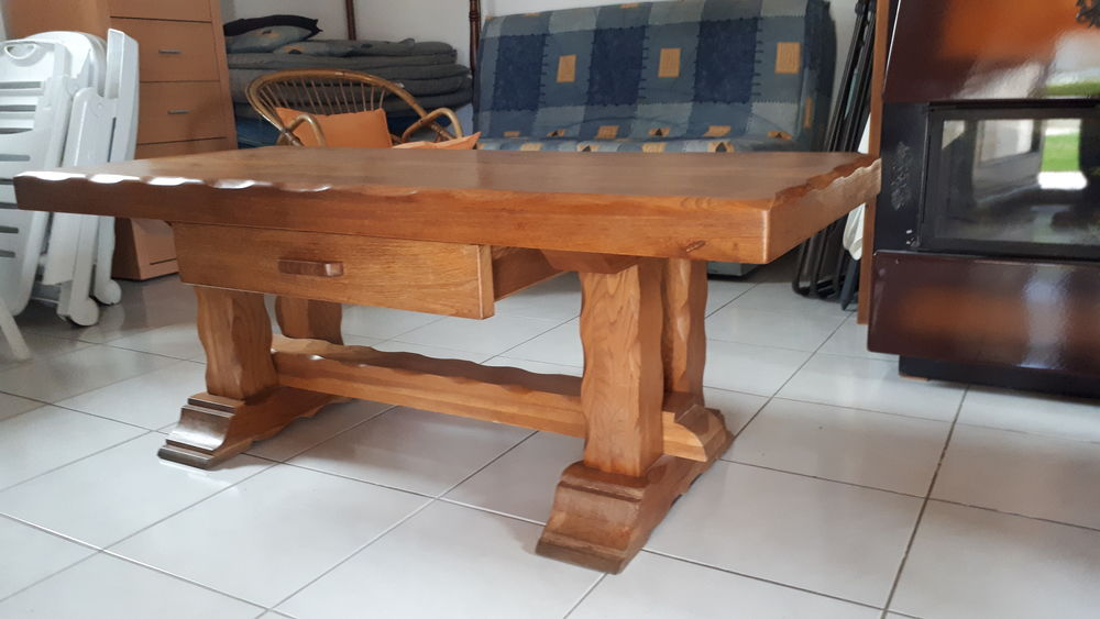 Table basse en bois chêne massif  100 Villeurbanne (69)