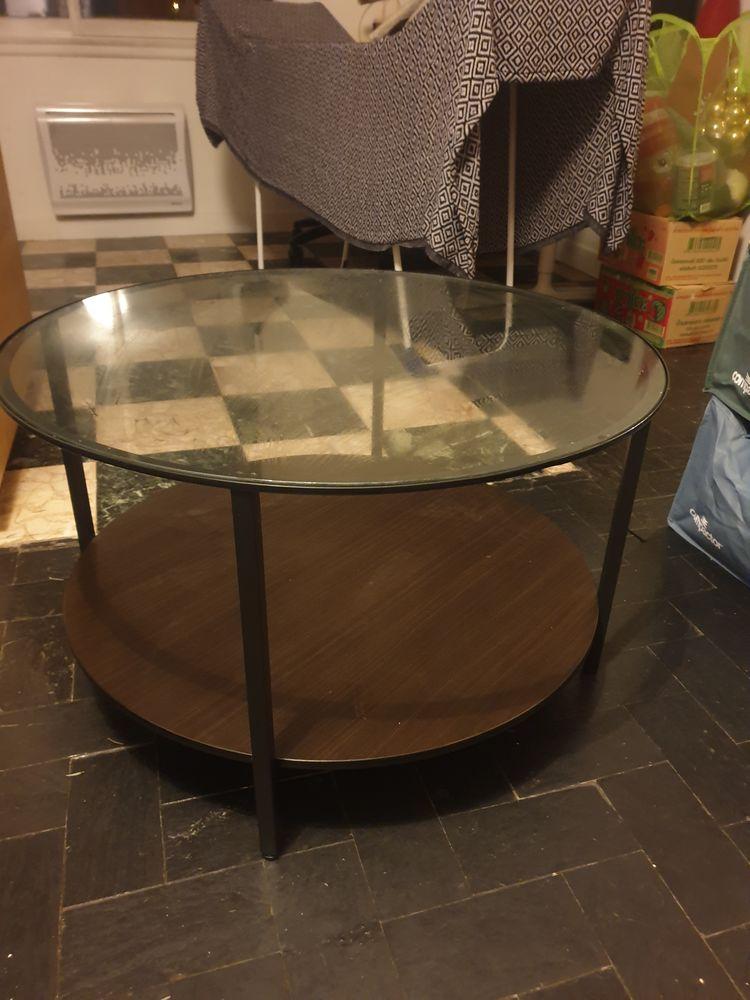Table basse bois et verre 0 Bron (69)