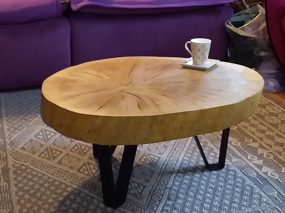 table basse en bois massif entier 390 Saverdun (09)