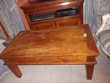 Table basse bois massif (pin ou sapin) 120*70*50 2 tiroirs 1