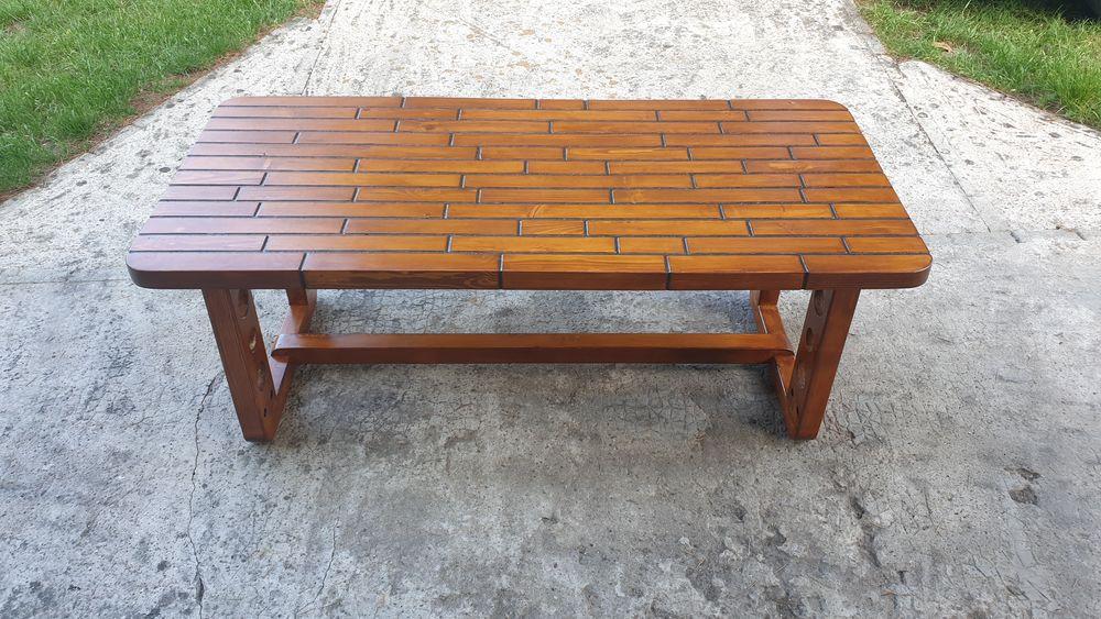 Table basse en bois d'épicéa  0 Roussillon (38)