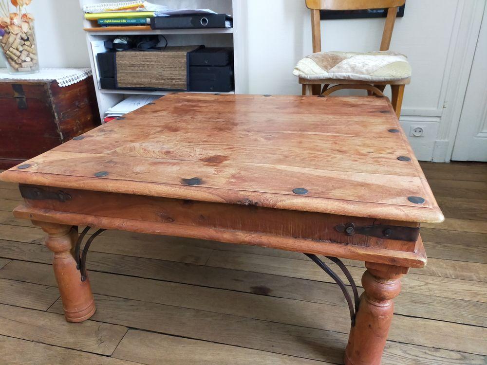 Table basse en bois riveté 50 Paris 17 (75)