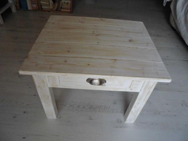 Achetez table basse c rus quasi neuf annonce vente for Table basse bois blanc ceruse