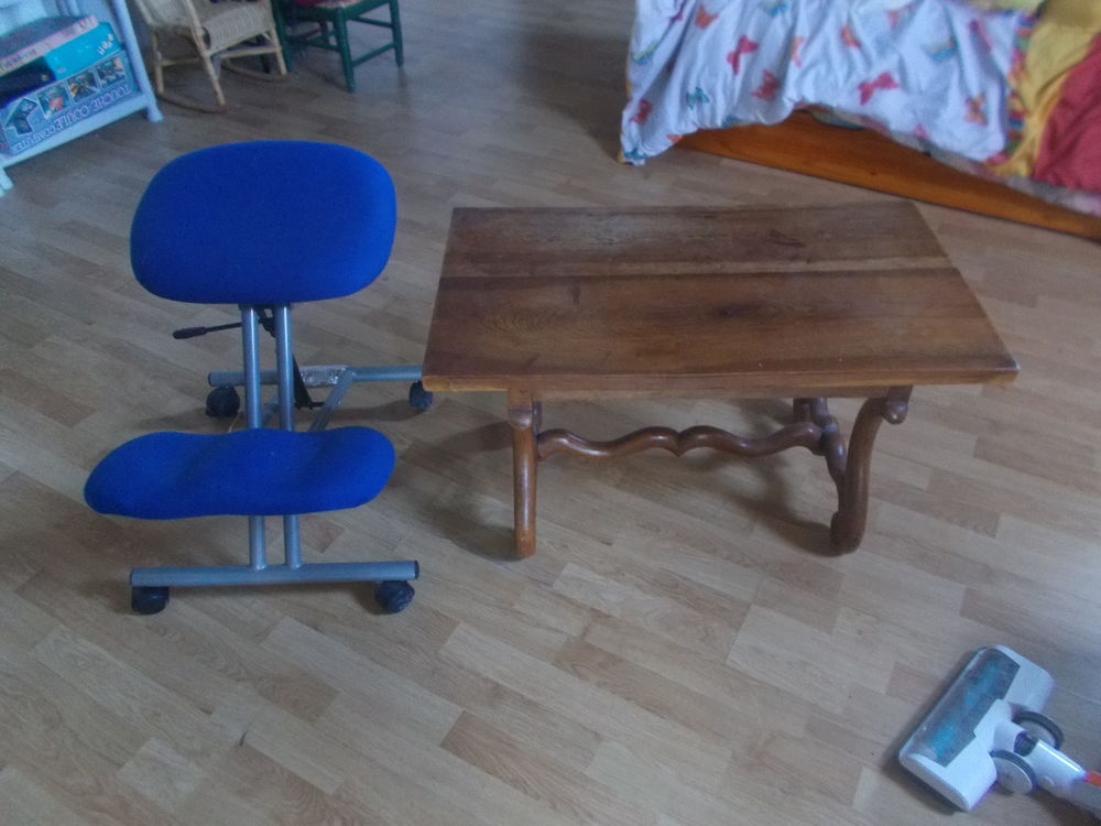 table basse  chêne  et chaise faire prix  50 Saran (45)