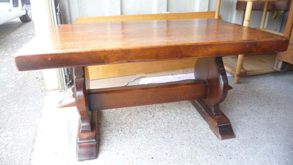 Table basse chêne massif contemporaine 90 Trappes (78)