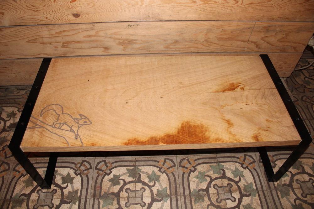 Table basse en chêne 150 Amancey (25)