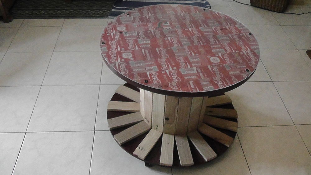 table basse Coca Cola Meubles