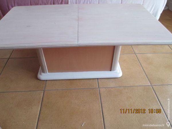 Table basse coffre hêtre massif 60 Alfortville (94)