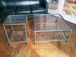 Table basse et coin de canapé assortis Plateaux en verre Meubles