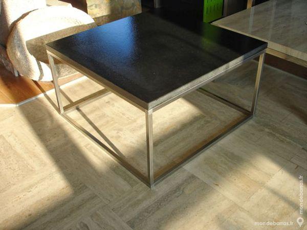 Table basse en granit et inox 680 Annecy (74)