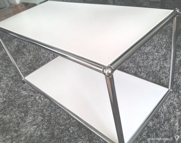 table basse usm haller blanche 280 Chenoise (77)