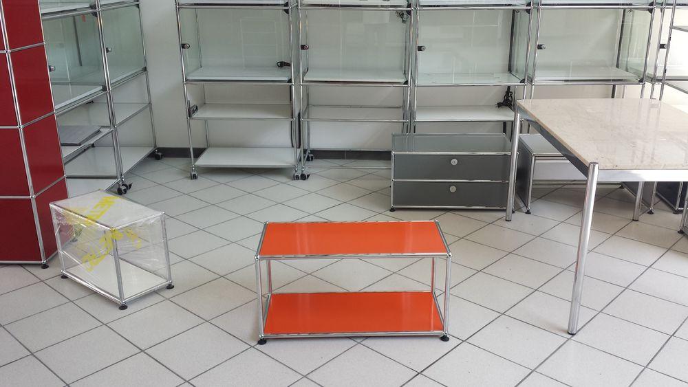 table basse usm haller orange à 2 plateaux 280 Provins (77)