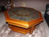 TABLE BASSE HEXAGONAL EN HETRE MASSIF 100 Bourg-en-Bresse (01)