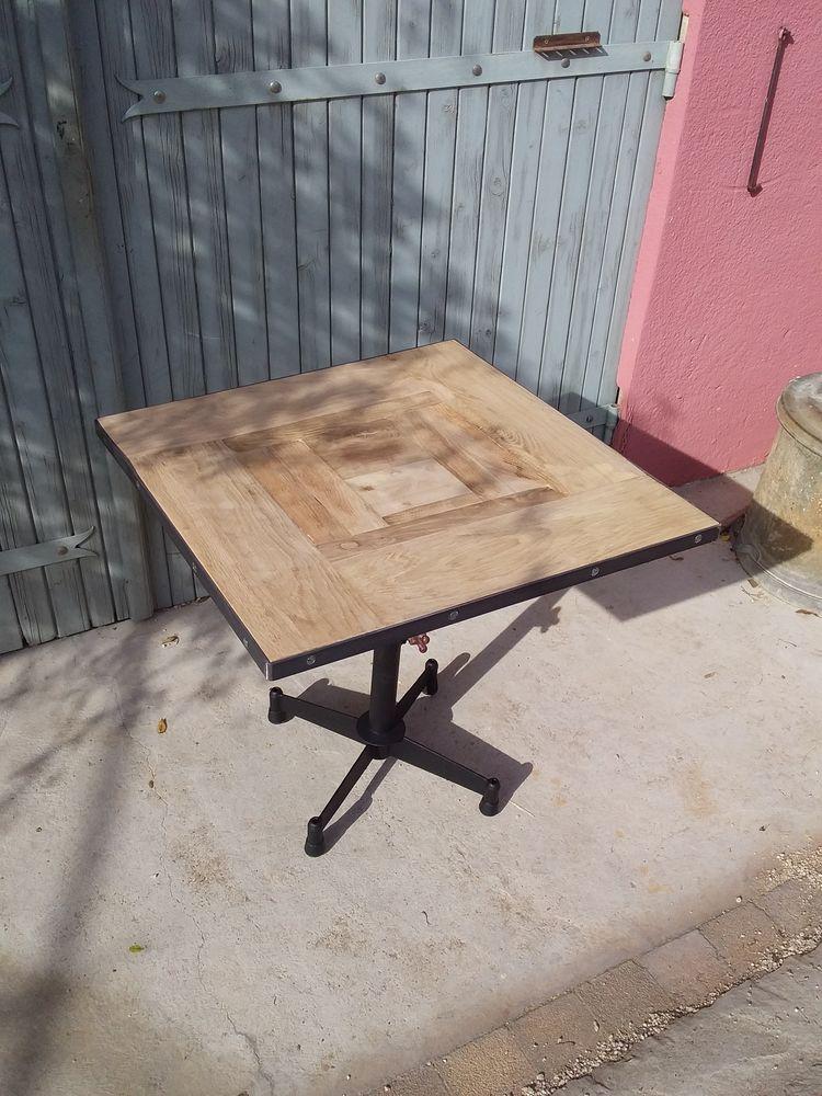 1 table basse industrielle années 70 155 Le Thor (84)