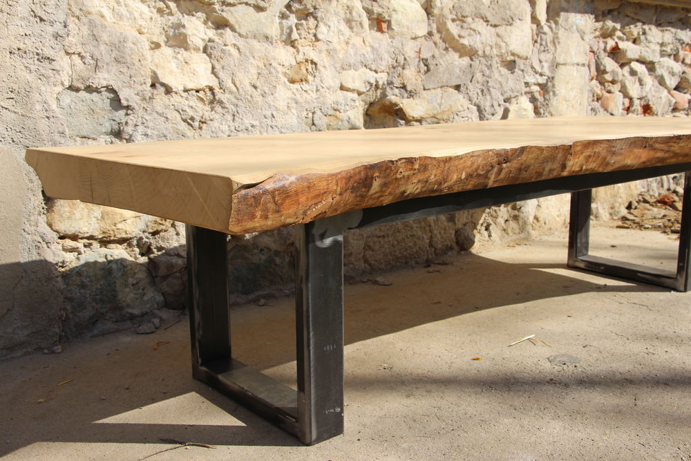 TABLE BASSE LIVE EDGE 0 Domessin (73)