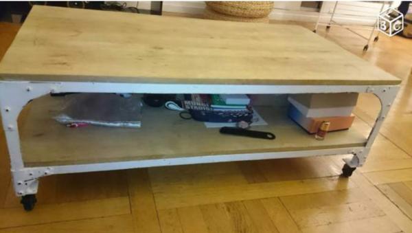 Achetez table basse maison occasion annonce vente saint germain en laye 7 - Table basse du bout du monde ...
