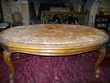 TABLE   BASSE   MARBRE  ROSE Saint-Victor-la-Coste (30)