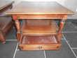 2 TABLE BASSE EN MERISIER Meubles